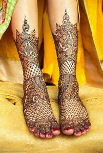 25 Fresh and exclusive leg Mehndi designs - Arabic and ...