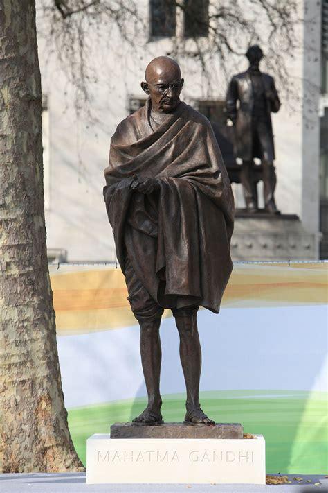 statue  mahatma gandhi parliament square wikipedia