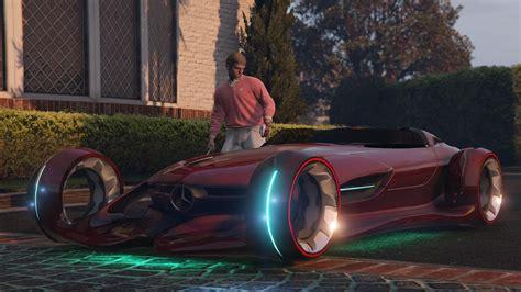 gta  mercedes benz silver lightning car mod youtube