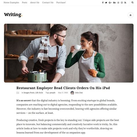 Free Themes For Writers 15 Best Themes For Writers And Authors Free