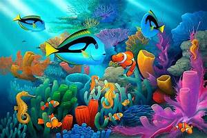 Life under sea 3d wallpapers for computer