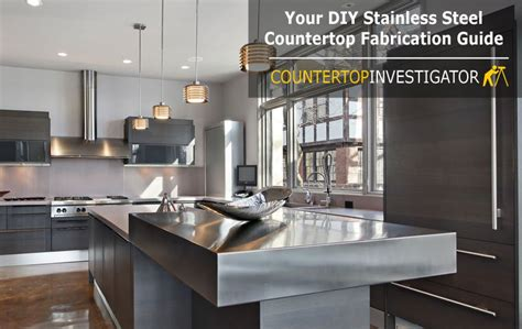 cost of stainless steel countertops diy stainless steel countertops an easy to follow guide