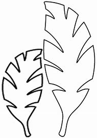 Best leaf template ideas and images on bing find what youll love jungle leaf template printable maxwellsz