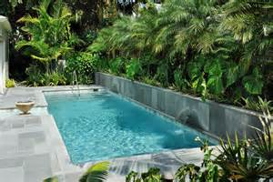 lake home plans narrow lot pools for narrow yards pools for narrow yards