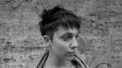 short neo pixie haircut  undercut youtube