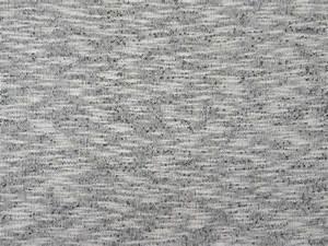 Tissu Gris Chiné : tissu molleton gris clair flamm ecru chin anthracite the sweet mercerie ~ Teatrodelosmanantiales.com Idées de Décoration