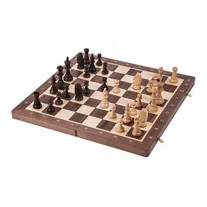 Chess Nr Szachy Tournament Walnut Staunton Schach
