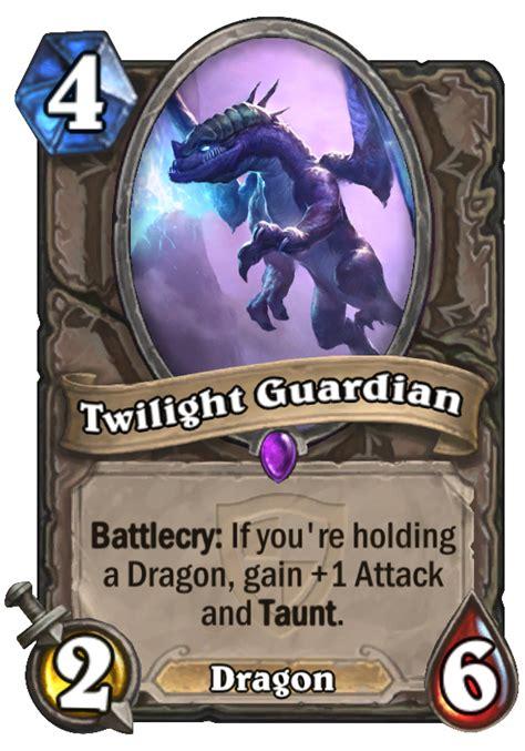 hearthstone taunt deck 2015 twilight guardian hearthstone card