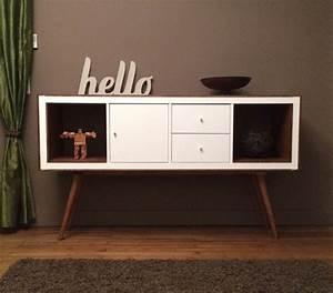 Ikea Kallax Hack : un meuble styl ann es 50 avec kallax ~ Markanthonyermac.com Haus und Dekorationen