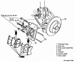 Service Manual  1991 Mazda Familia How To Adjust Parking