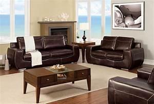 Tekir espresso living room set from furniture of america for Espresso living room furniture