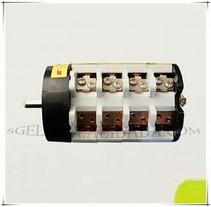 W31 Rotary Switch 32a 4 Pole Panel Manual Selector Switch