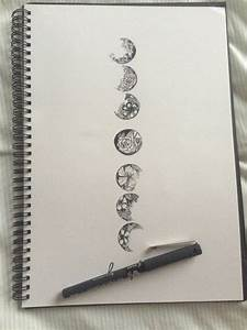 Phases Of The Moon Drawing Tumblr  pixshark   Images Galleries With A Bite!