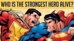 Top, 10, Most, Powerful, Dc, Superheroes