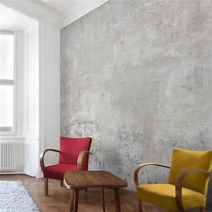 Mauer Wand Wohnzimmer : die besten 25 tapeten wohnzimmer ideen auf pinterest ~ Lizthompson.info Haus und Dekorationen