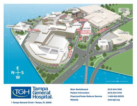 tgh campus map tampa general hospital