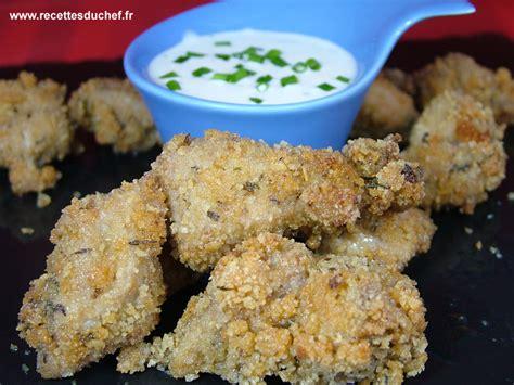 cuisiner reste de poulet recettes de panés par recettes du chef poulet pané aux