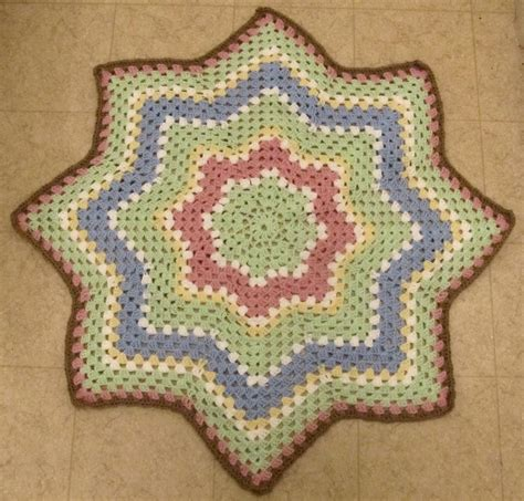 ripple crochet pattern granny round ripple 8 points by smoothfox craftsy
