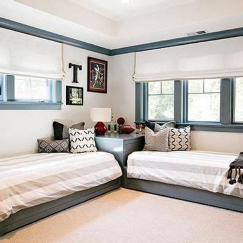 kids room   shaped beds transitional boys room www