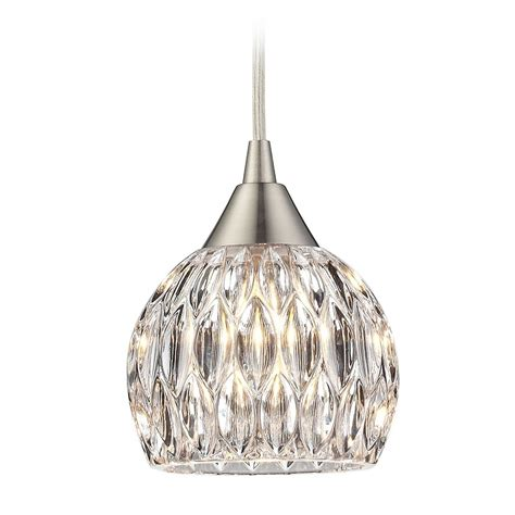 sciolari lens pendant chandelier with glass and