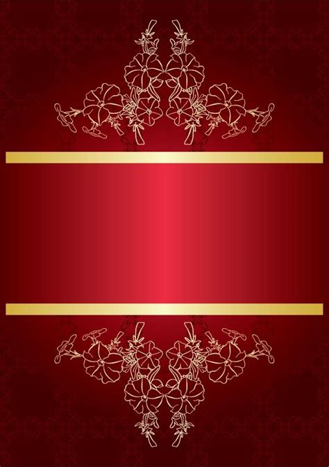 brilliant red background vector material