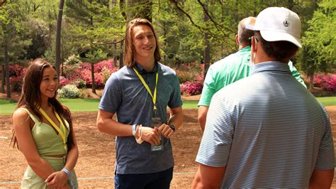 Maybe you would like to learn more about one of these? Trevor Lawrence's weekend: Masters, marriage, toaster from Jags fans