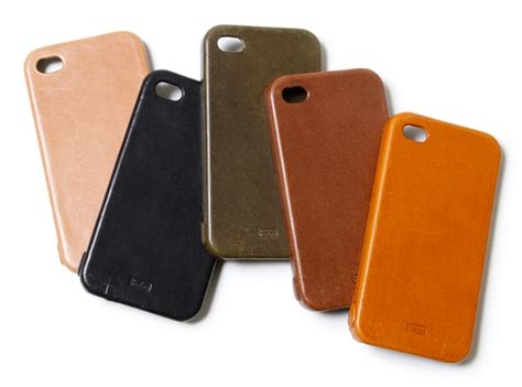leather iphone cases hobo grain leather iphone 4 highsnobiety