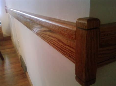 modern oak chair rail reclaimed and locally harvested