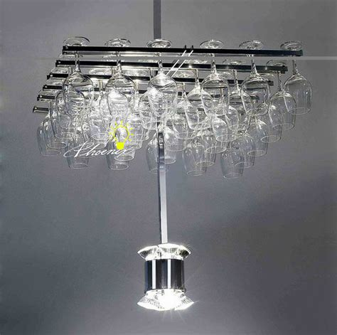 modern glass cup led chandelier contemporary