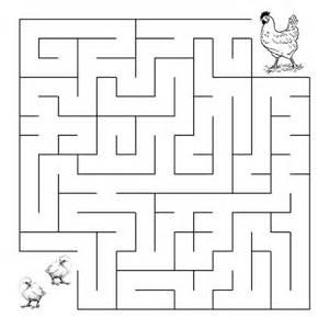 wedding cake hen maze puzzle