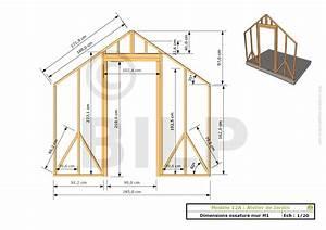 modele bella cabanes abris de jardin a construire soi meme With cabane de jardin plan