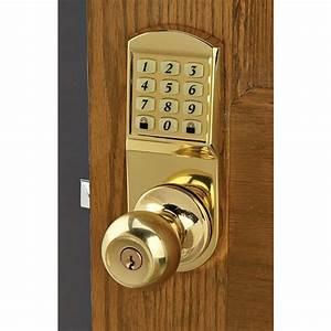 Door Knob Keyless Entry System