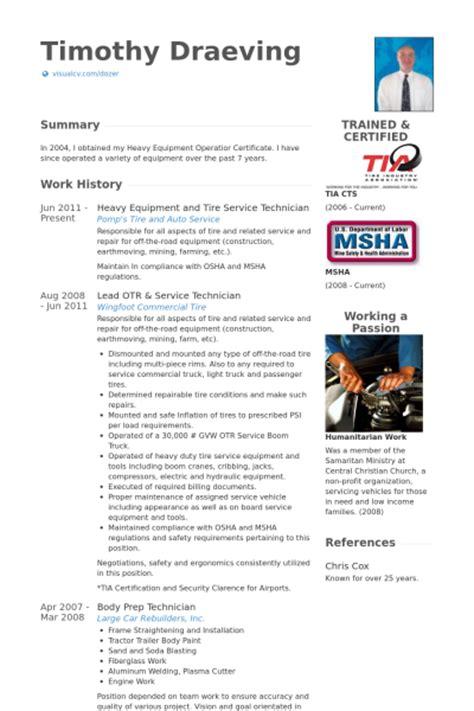 service technician resume sles visualcv resume