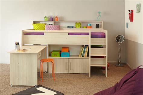 hauteur meuble haut cuisine plan de travail lit combine kurt acacia clair