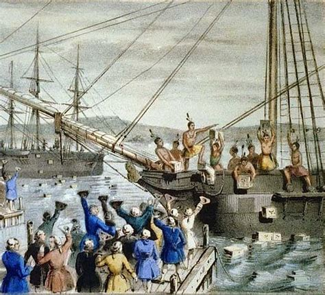american revolution podcast episode   boston tea