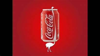 Cola Coca Poster Advertisement Illustrator Adobe