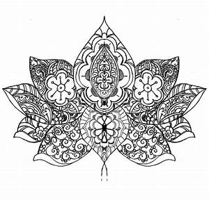 Lotus Flower... Thing. by HocusPocusFocus on DeviantArt