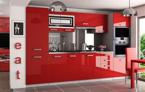 Hochglanz Küche Rot by Kaufexpert K 252 Chenzeile Moderno Rot Hochglanz 300 Cm