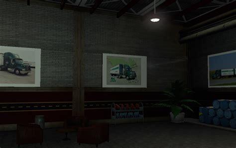 Rl Garage by R L Carriers Garage Ats American Truck Simulator Mod