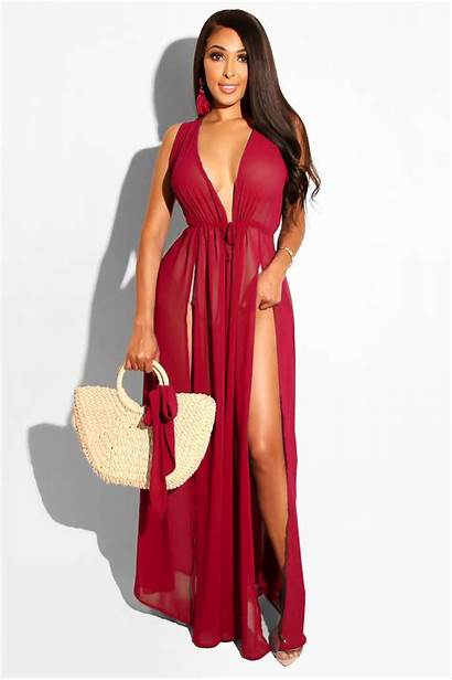Dresses Trendy Maxi Cocktail Party Colorful Chiffon