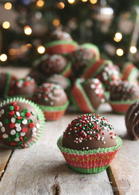 christmas cake pops       turn