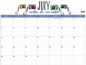 cute june 2020 calendar printable 2019 printable calendar for imom