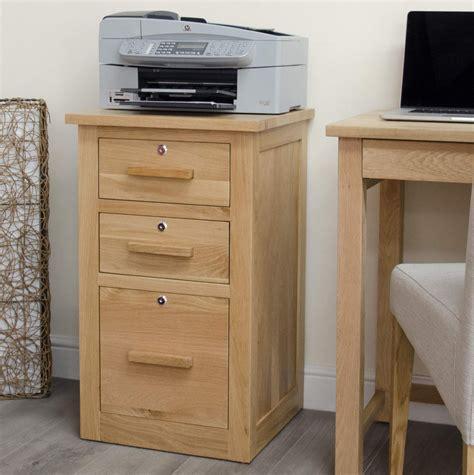 Desk File Cabinet Oak by Arden Solid Oak Furniture Three Drawer Storage Filing