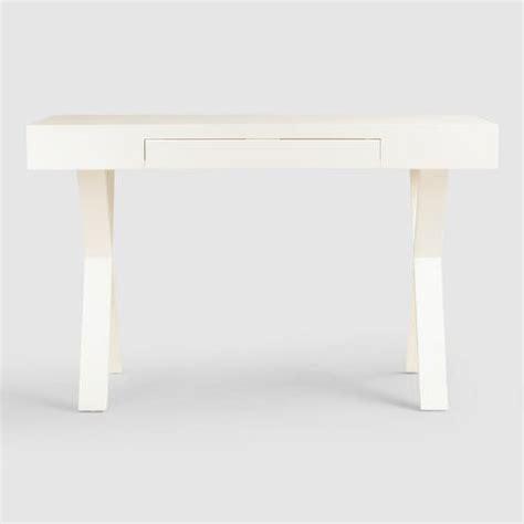 off white desk with drawers off white josephine desk world market