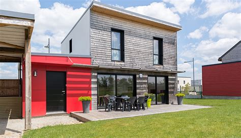 constructeur maison bois loire atlantique constructeur maison bois sur mesure en loire atlantique