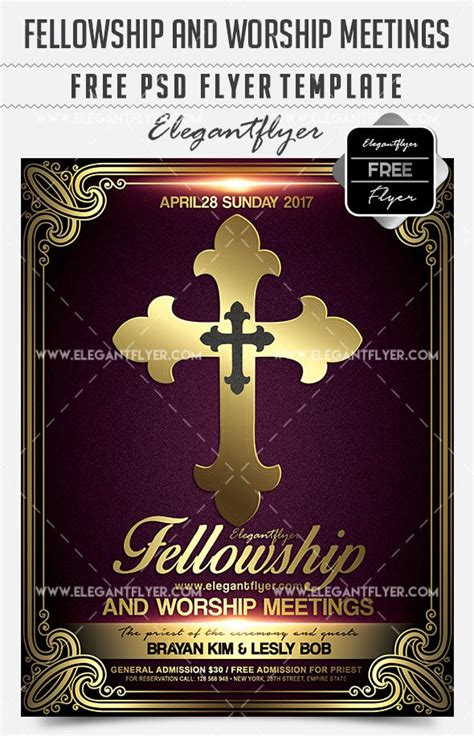 Religious Flyers Template Free by Free Religious Flyer Templates Choice Image Wedding
