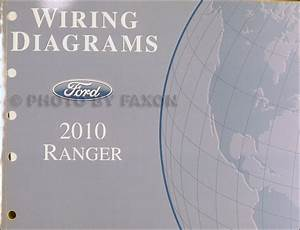 2010 Ford Ranger Repair Shop Manual Original 2 Volume Set