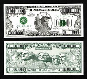 printable million dollar With million dollar bill template