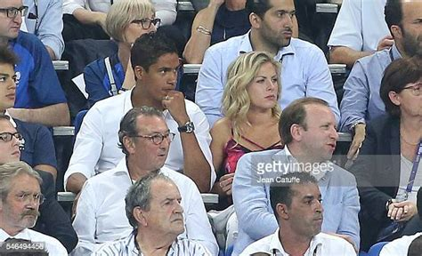 France and real madrid defender raphael varane and his wife camille tytgat. Camille Tytgat Photos and Premium High Res Pictures ...