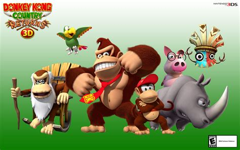 Donkey Kong Country Returns 3d My Nintendo News